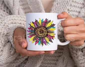 Sunflower 11 oz Coffee Mug