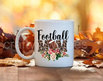 Football Mom Life 11 oz Coffee Mug