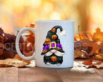 Halloween Gnome Fall Thanksgiving 11 oz Coffee Mug