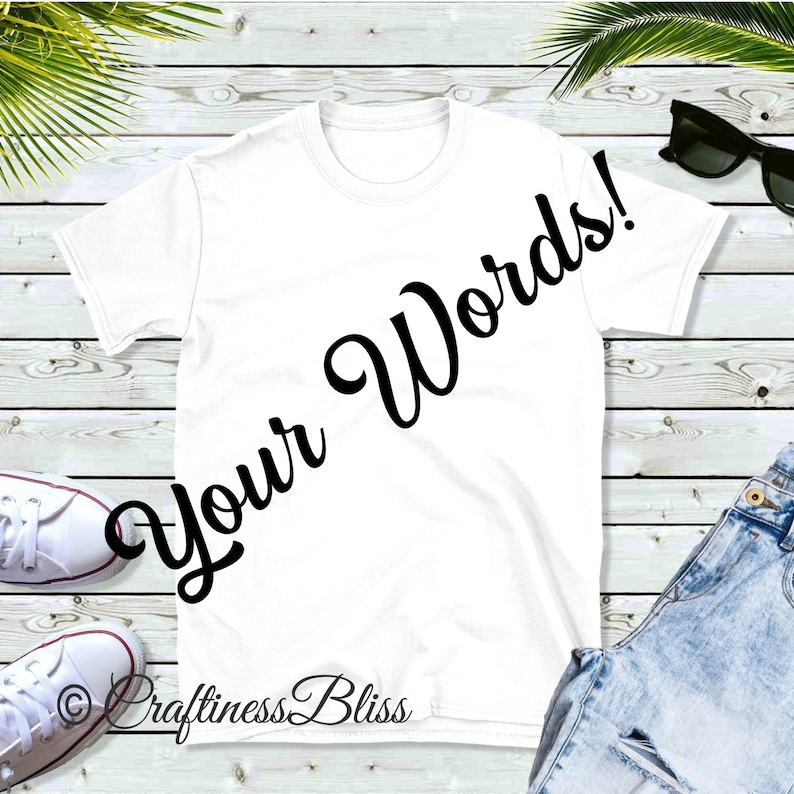 Design Your Own Custom Personalized Shirt Vacation Special image 0