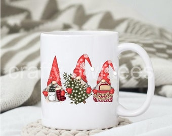 Christmas Gnomes 11 oz Coffee Mug