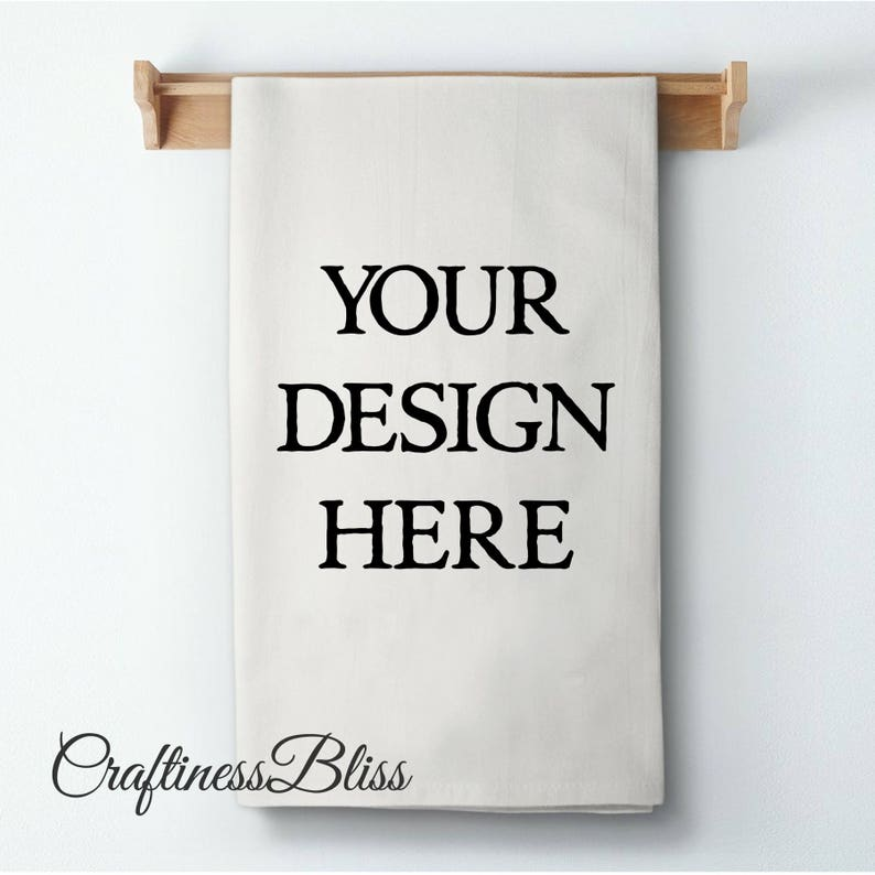 Create and Personalize Your Own Design Sack Kitchen Dish Towel image 0