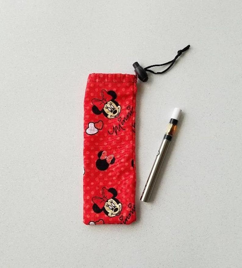 Vape Pen Pouch Cartridge Carrier E-Cig Case Vape Holder Draw image 0