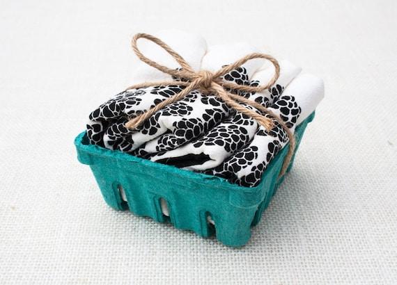 Blackberry Basket Floursack Kitchen Towel