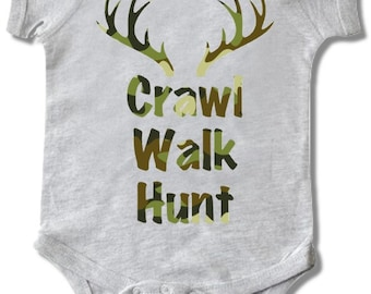 Crawl, Walk, Hunt Tee