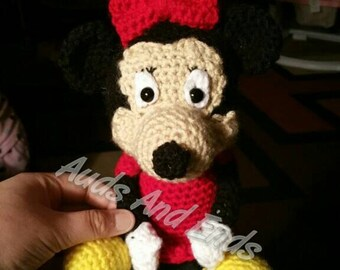 Made to order crochet Mouse  amigurumi