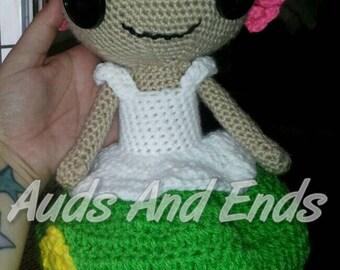 Made to order Lalaloopsy inspired amigurumi doll