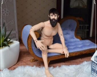 1/12 bjd doll - real male proportions - handmade OOAK custom made by Zjakazumi