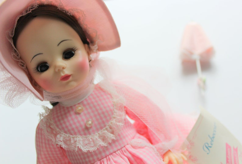 1d8ebe9348132 Vintage Madame Alexander Rebecca of Sunnybrook Farms 14 Inch Doll 1980s