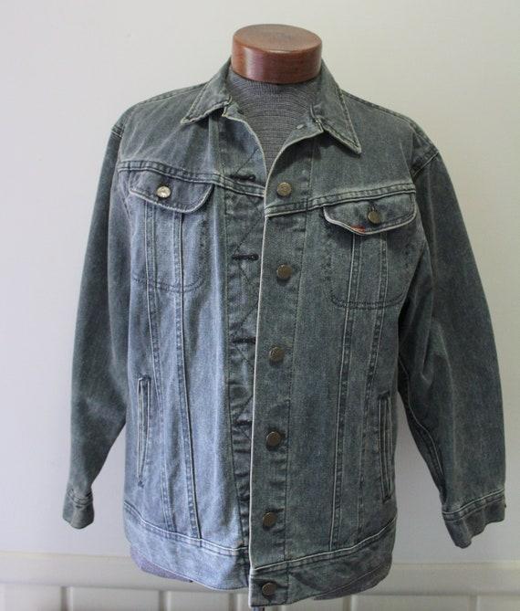 Vintage Ms Lee Women's Denim Jacket Size 11/12 197