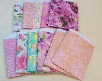 Party Favor Bags, Set of 30, Spring Prints, 3 of each