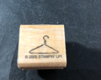 Hanger Used Rubber Stamp View All Photos