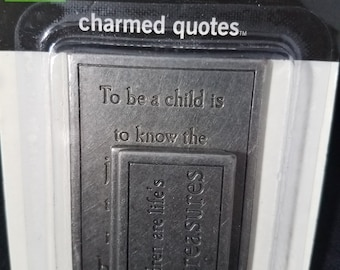 Making Memories Charmed Quotes Baby