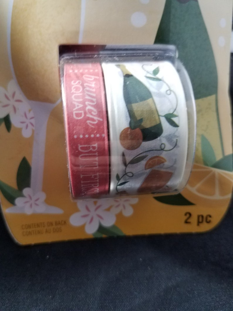Brunch Mimosas washi Tape Recollections