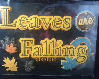 Leaves are Falling Recollections Fall Autumn