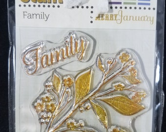 Family Clear Stamps New