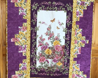 Oriental Floral Quilt