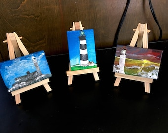 Teensy Art Lighthouses