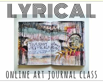 LYRICAL - online art journal class
