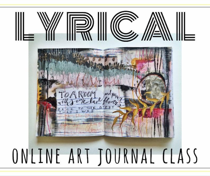 LYRICAL  online art journal class image 0