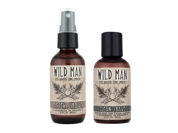 32c2784a8e03 Mens Grooming Kit Wild Man SHAVING Gift Set with Shaving