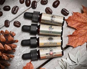 Beard Oil Sampler - Wild Man Beard Conditioner - Limited Edition Trial Size Gift Set Stocking Stuffer