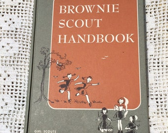 Brownie Scout Handbook with Vinyl Scout Book Cover