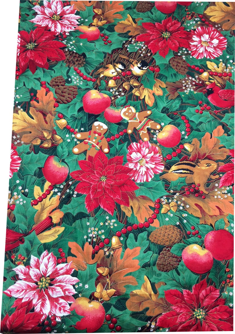 756337219 Christmas Fabric by Joan Kessler for Concord Fabrics featuring | Etsy