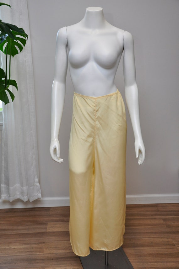 1930s silk and lace loungwear set | vintage 30s y… - image 8