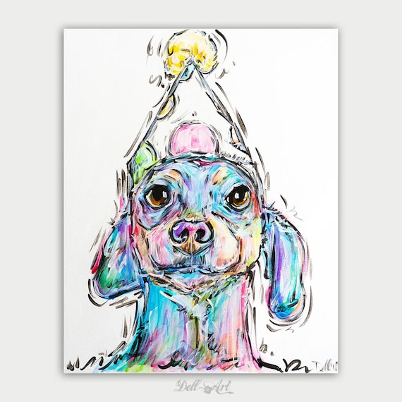 Framed Dog Portrait Custom Pet Portrait Custom Wall Art Custom Dog Picture Personalized Home Decor Digital Dog Art Pet Commission