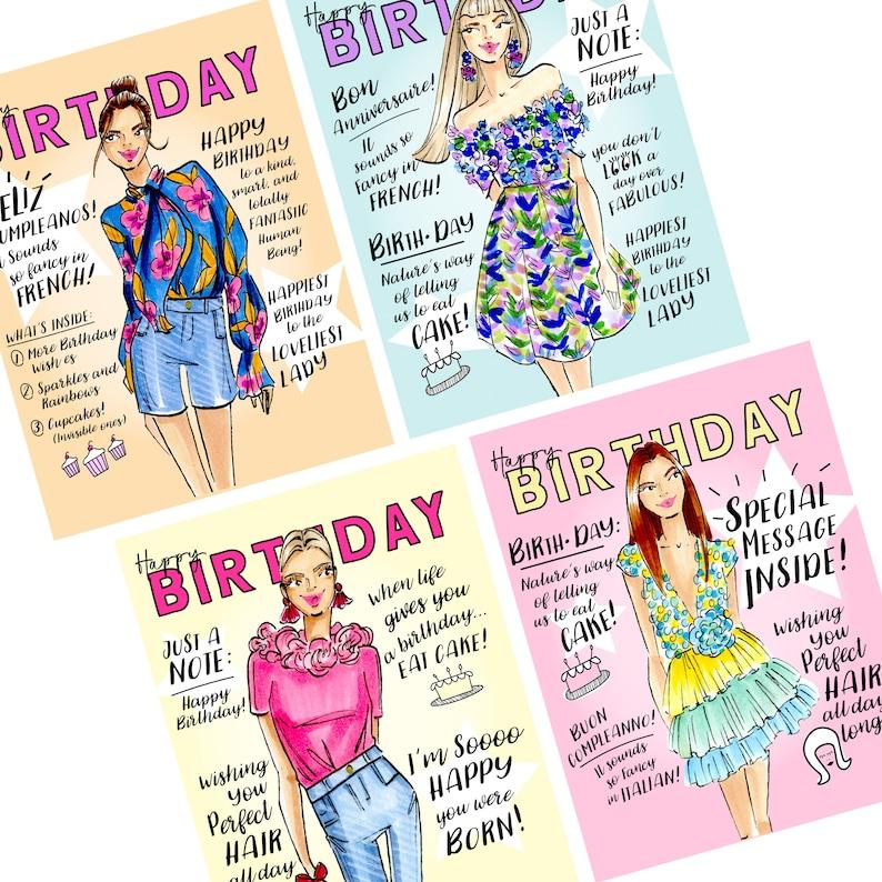 Birthday Cards Birthday blank cards fashion cards fashion image 0
