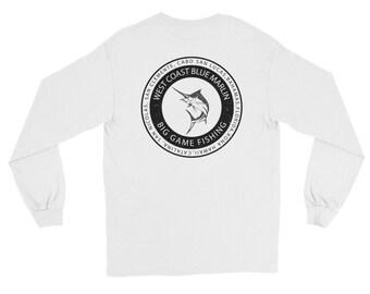 Big Game Marlin Fishing Long Sleeve T-Shirt