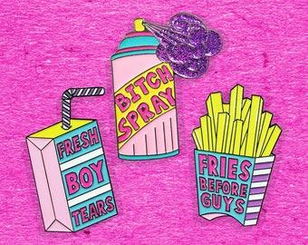 Girl Gang Pins