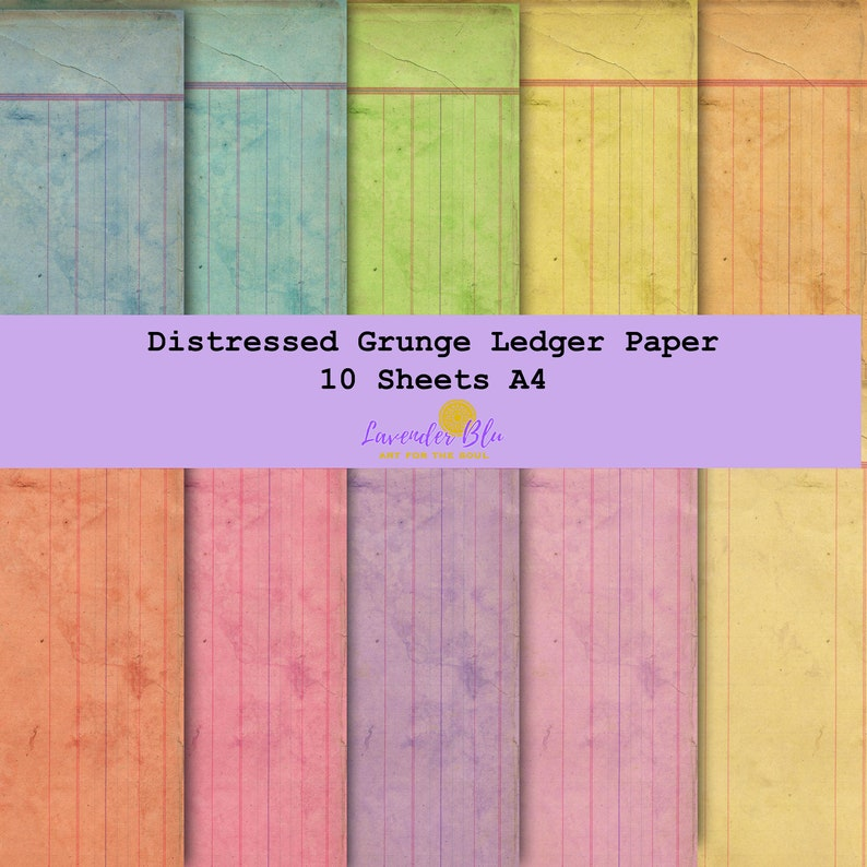 photograph about Ledger Paper Printable known as Ledger Paper Electronic Printable Papers Distressed Grungy. Junk Publications, Sbooking.