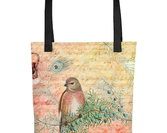 Sweet Song Bird Tote Bag