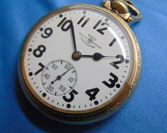 """Ball Pocket Watch  RR Approved, """"Official Railroad Standard"""", Hamilton, 998, 23 J"""