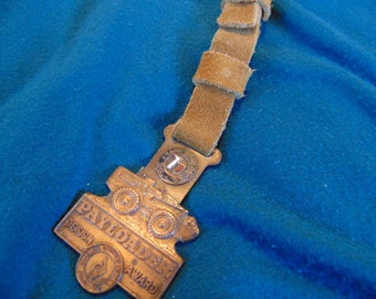 Pocket Watch FOB Payloader, Hedge and Matthews Company, Vintage