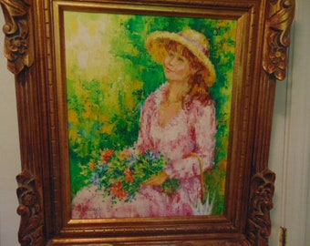 Original Oil Painting by Karin Schaefers Highly Regarded American Artist ON SALE NOW