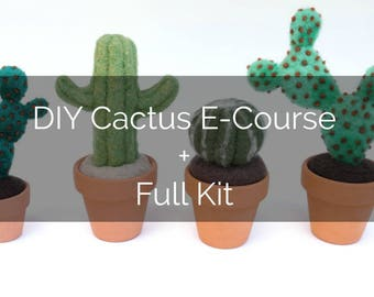 DIY Cactus Course Companion Kit PLUS E-course Gift Card