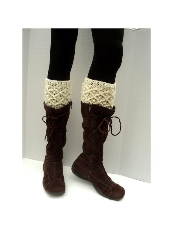 Crochet Pattern Diamond Dots Boot Cuffs Etsy