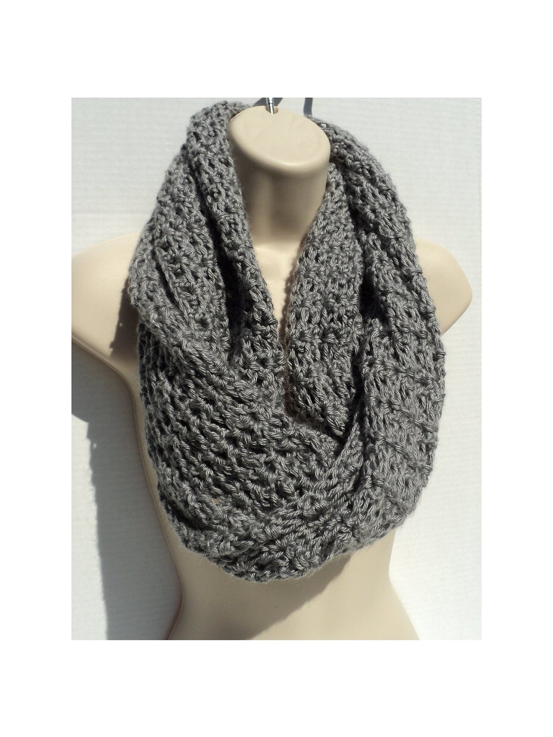 Crochet PATTERN - SImple Elegance - Mobius cowl, Neck Scarf and ...