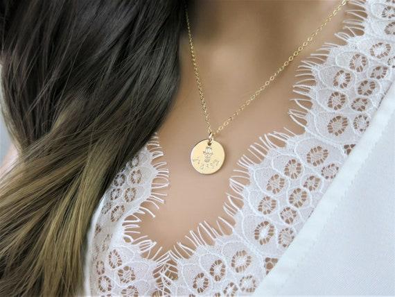 Hebrew Necklace | Hebrew Name Necklace | Personalized Hamsa | Custom Hamsa Necklace | Hamsa Hand | Engraved Hamsa | Hand Stamped Hamsa