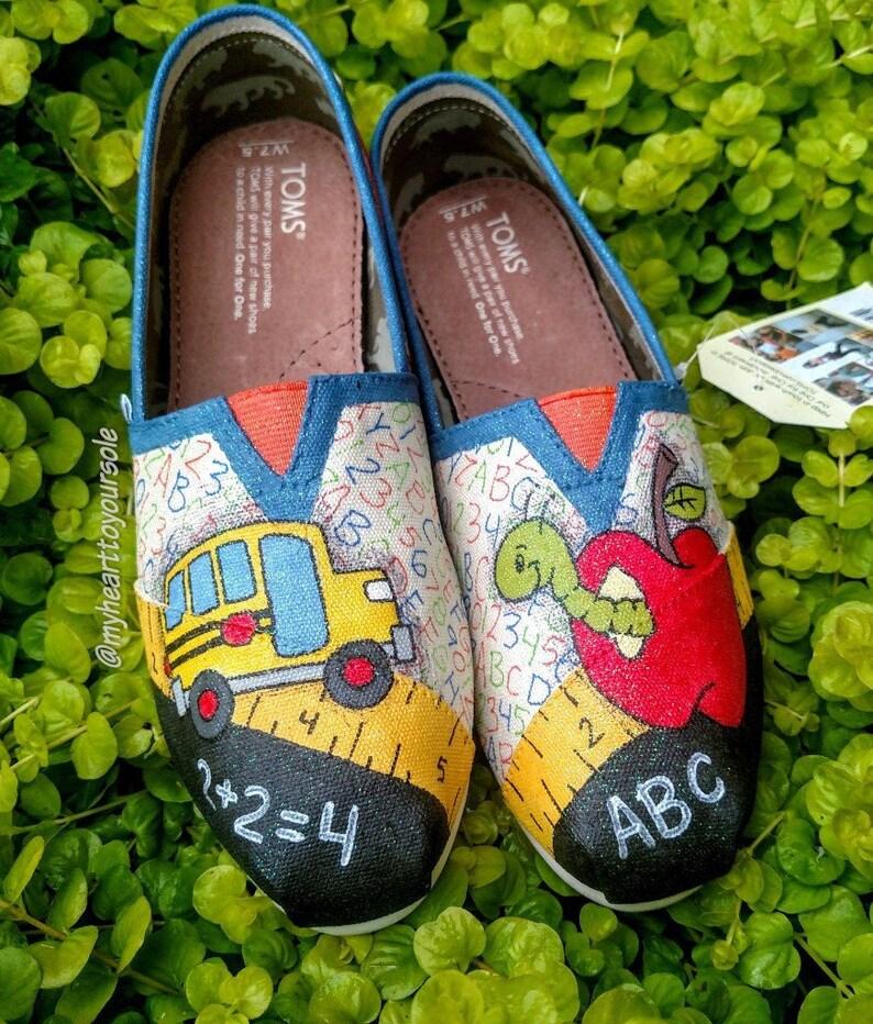 a214e59c4f5 Teacher TOMS teacher shoes teacher gifts teacher
