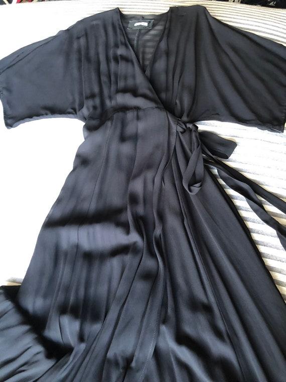 Reformation Sheer Georgette Wrap Maxi Dress NWT