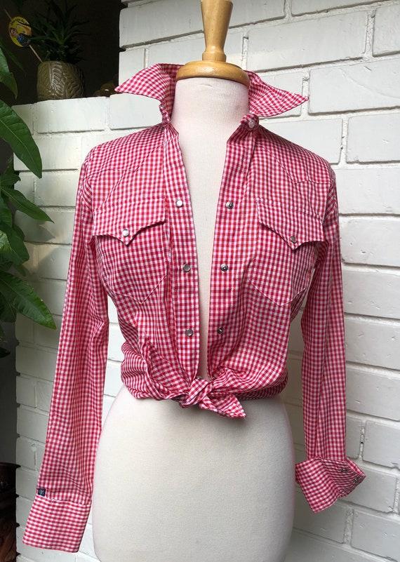 Rockmount Ranchwear Gingham Western Shirt