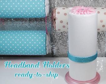 READY to SHIP Headband Holders - Standing Hairband Display, Hanging Hair Accessory Organizer
