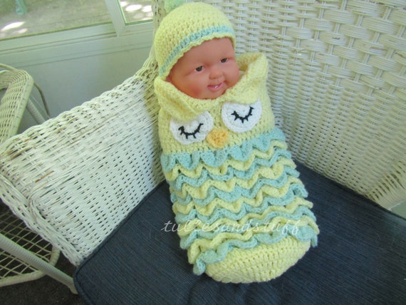 Hand Crochet Baby Cacoon Bunting, Size - New Born To 3 Months