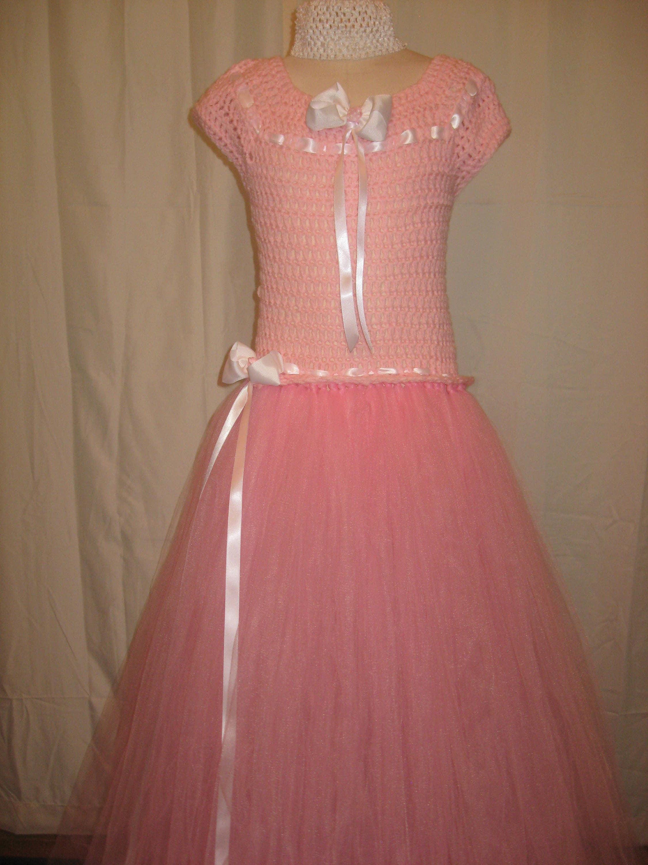 984c8f9fad6 Girls Pink Handmade Tutu Dress