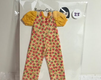 Rosiee Geltuie PlaySuit with Puffy Sleeves