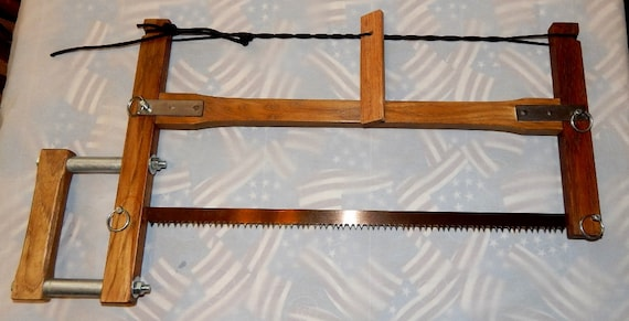 Take Down Frame Buck Bow Saw Hand Made In Usa Includes Bahco Etsy